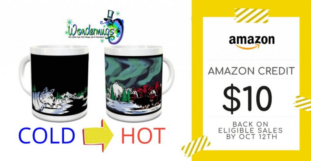Wondermugs Amazon Prime Sale Promo - Facebook Ad 1200x628 px
