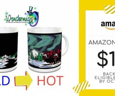 Wondermugs Amazon Prime Sale Promo - Facebook Ad 1200x628 px