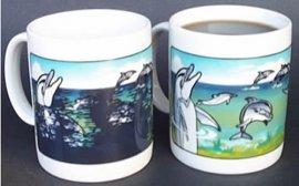 Dolphins Color Change Mug