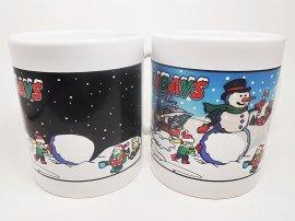 Happy Holidays Color Changing Mug