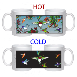 Hummingbirds Color Changing Mug