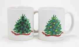 Christmas Tree Color Changing Mug