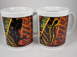 Fire Salamander Color Changing Mug