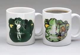 Hole In One Color Changing Mug