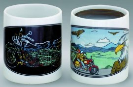 The Motorcycle Color Changing Mug