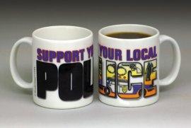 Police Color Changing Mug
