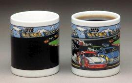 Stock Car Racing Color Changing Mug