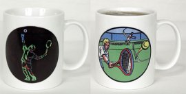 Ace Tennis Male Color Changing Mug