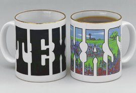 Texas Bluebonnets Color Changing Mug