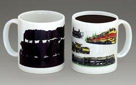 Trains Color Changing Mug