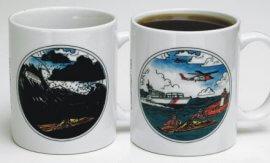 U.S. Coast Guard Color Changing Mug