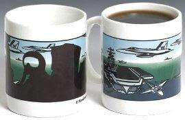 U.S. Navy Color Changing Mug
