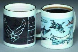 U.S. Air Force Color Changing Mug