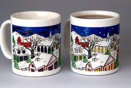 Country Christmas Color Changing Mug